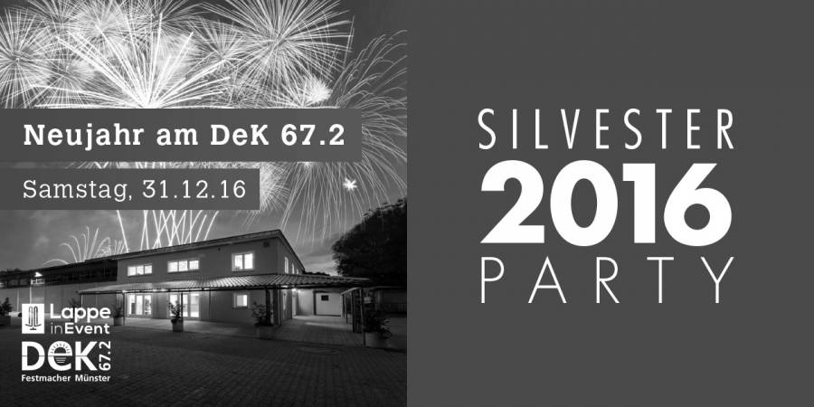 Silvester Party im Dek 67.2 am 31.12.2016